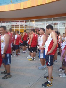 running event in consolacion, cebu, philippines