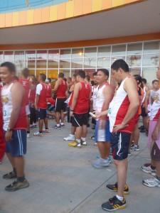 running event in consolacion, cebu, philippines