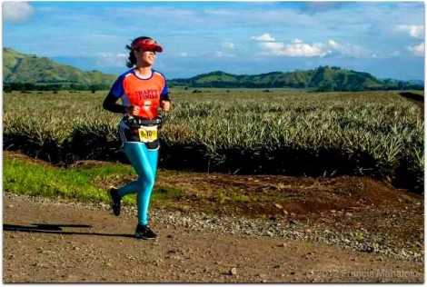manolo fortich, bukidnon, pineapple plantation running place