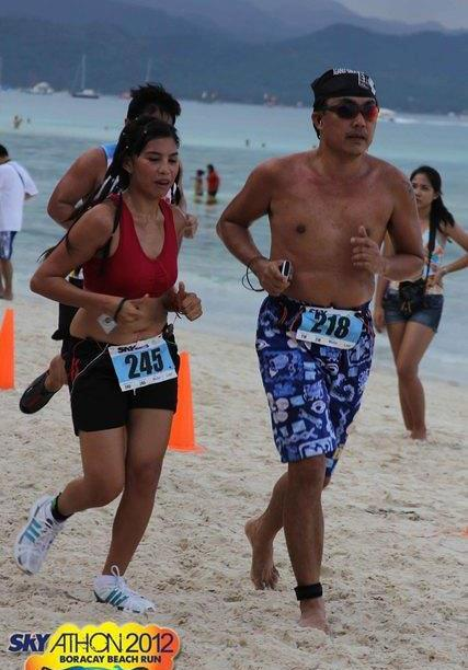 boracay, philippines running destination
