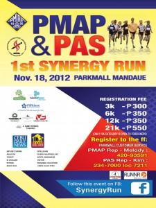 Synergy Run, Cebu 2012