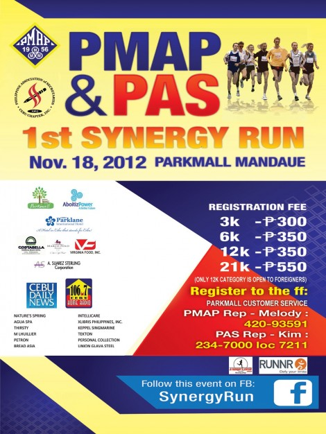 Synergy Run, Cebu 2012