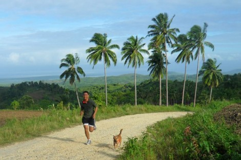 moalboal, cebu running destination