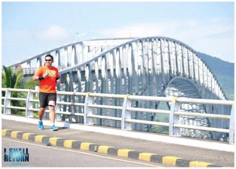 San Juanico Bridge, Samar race route