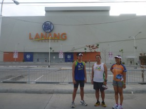 SM Lanang, Davao, part of Milo Marathon Davao leg route