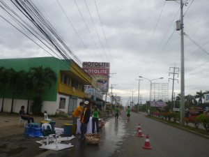 milo marathon elimination, water station, davao, philippines