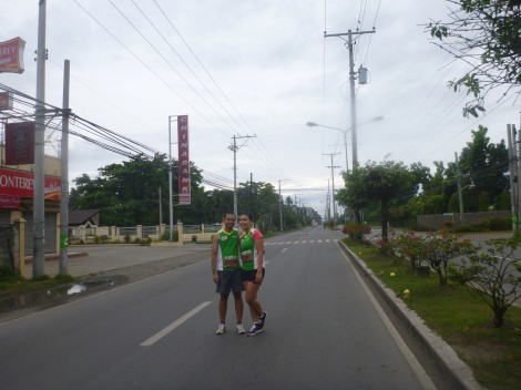 running couple, davao, philippines