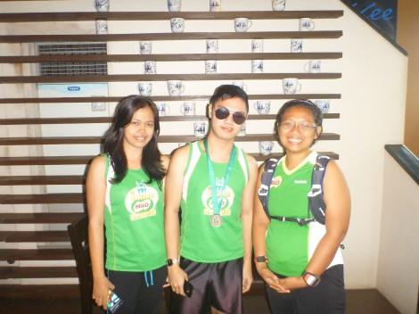 with milo marathon davao leg finishers