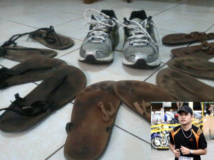 Ondoy Bangcoy, and his KAI collection minimalist running footwear shoes from cebu, philippines