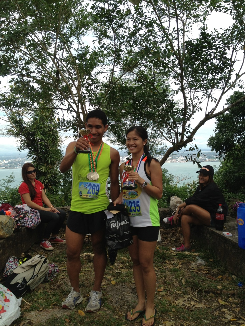 King and Queen of Balaan Bukid, 1st placers of 21KM