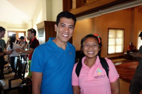Sharohm Abdullah, Xterra pro athlete from Malaysia