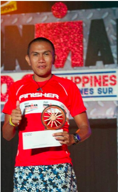 3rd age group, Ironman Camsur 2010  (Photo from Ralph's collection)