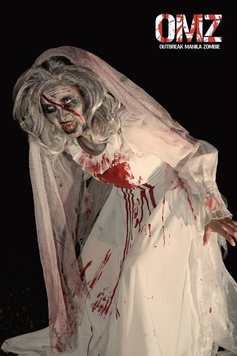 From a Zombie Bride to an old Granny Zombie Bride – Photo by Joms Antonio