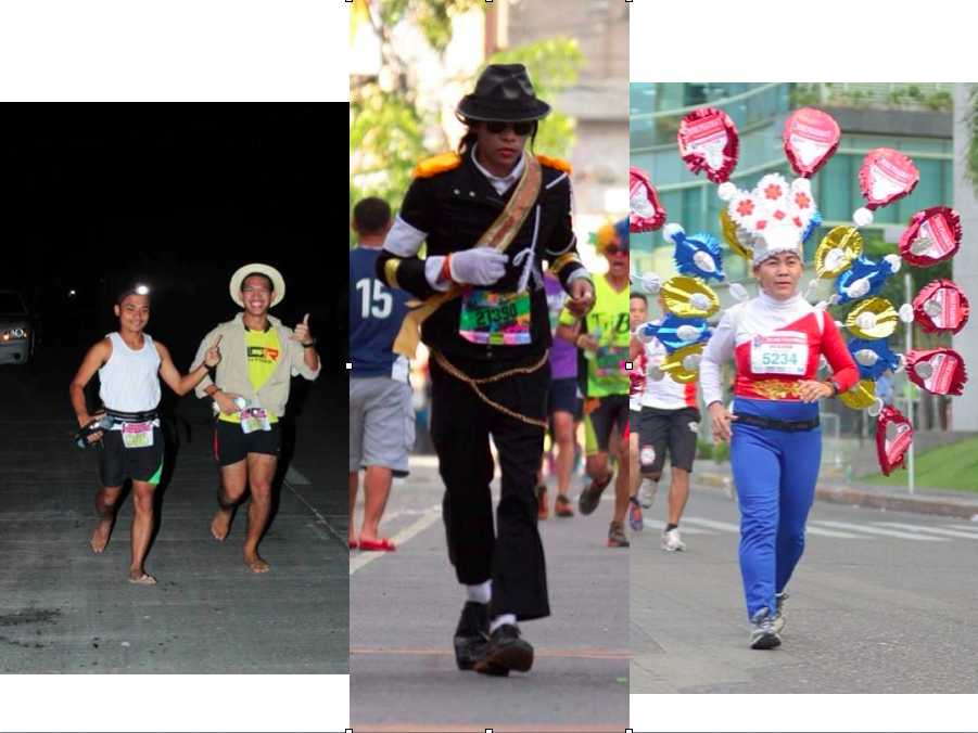Photos from John Domingo, Amazona Fun Run, and aktib.ph