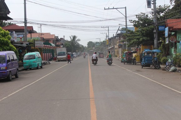 Barangay Lagtang Road heading towards Tabunok.